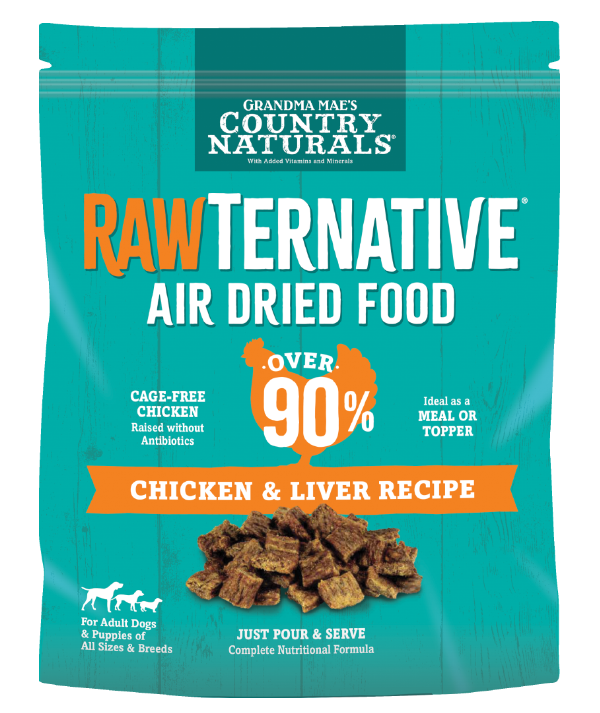 chicken and liver recipe bag
